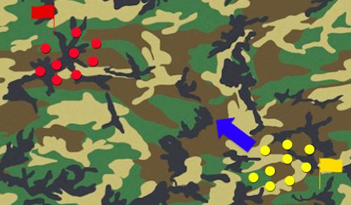 サバゲー 攻防戦