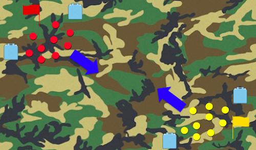 サバゲー 強奪戦