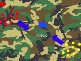 サバゲー センターフラッグ戦