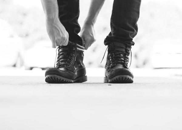 動きやすい服と靴